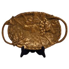 Charming Bronze Art Nouveau Bowl or Vide Poche