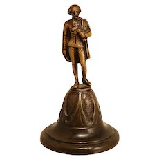 Bronze 19th Century French Table Bell