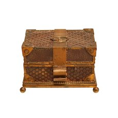 French 19th Century Casket For Perfume Bottles
