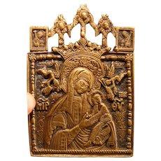 Bronze Travel Icon 19th Century