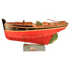 Beautiful wooden model of a ship.