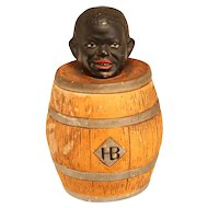 Antique Blackamoor Tobacco Jar