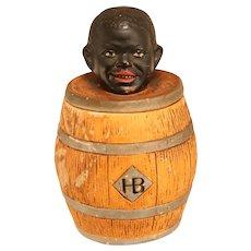 Antique Blackamoor Tobacco Jar