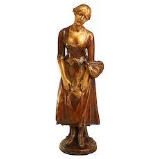 Stunning Antique French Bronze Sculpture