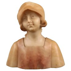 Lovely Small Art Deco Bust