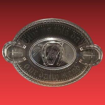 1880 Adams Company Bread Plate