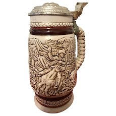 1980 Avon stein with lid