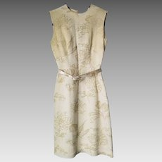 Vintage 1950s Dress - Custom Made - Size 4 - Audrey Hepburn Style!