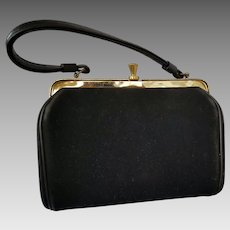 Vintage Small Black Purse Peck & Peck 5th Avenue New York