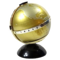 Transistor Six Vista World Globe Radio Vintage 1960s Mid Century AM Radio