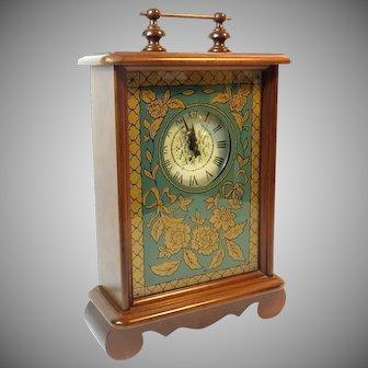 Vintage Carl Forslund American Mantel Clock
