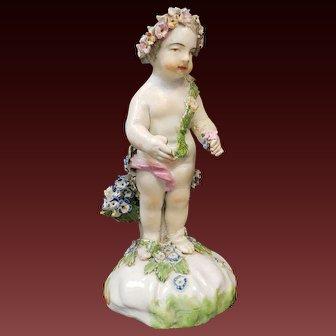 Antique Staffordshire Derby Porcelain Figure