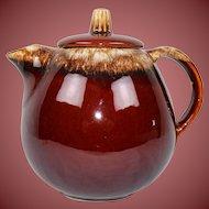 McCoy Pottery Brown Drip Tea Pot USA Ships Free