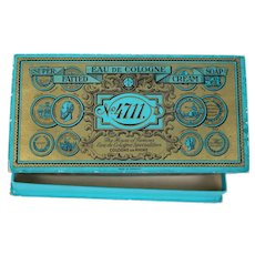 Vintage Box for Doll Things 4711 Eau De Cologne