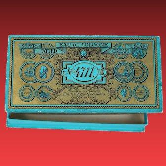 4711 Eau De Cologne Vintage Box for Doll Things Perhaps