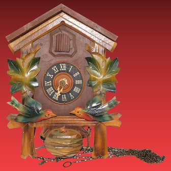 German Cuckoo Clock Needs Clock Fixer Connoisseur A Complete Beautiful Clock