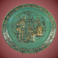 "Victorian Ladies And Gentleman 14"" Wall Tin"