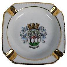German Ashtray Bergedorf Gerold Porzellan Bavaria