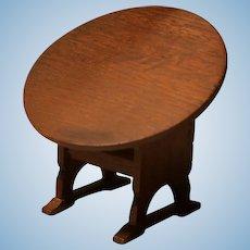 Vintage Doll House Wooden Tilt Table