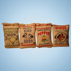 Dollhouse Pillows for Props/Lemon Drops/Horse Feed/Bird Seed/Peppers