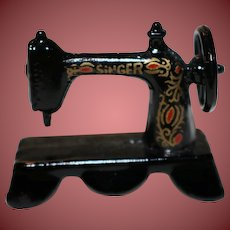 Tiny Singer Sewing Machine for Doll House