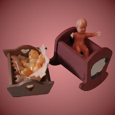 Doll House Doll Beds and Doll Babies
