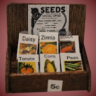 Dollhouse Seed Display Seed For Sale