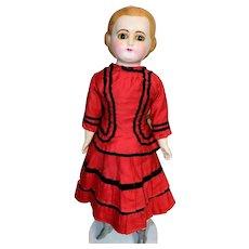 "Beautiful Antique 20"" Paper Mache Wax Doll"