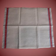 "2 Vintage Linen Tea Towels Kitchen Towels Very Nice 28"" x 16"""