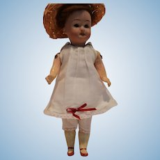 Small Doll Dress and Pantaloons for Doll Under 9""