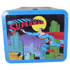 Hallmark School Days Lunch Box 1950's Superman Numbered addition Still in Shrink Wrap