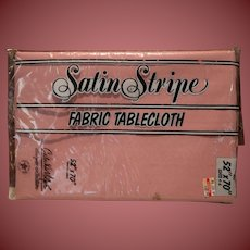 Vintage Mauve Table Cloth 52 x 70 In Package Just Gorgeous
