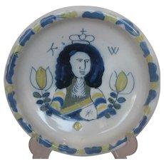Delft Armorial Plate