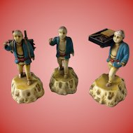 Set of 3 Chinese Worker Figures