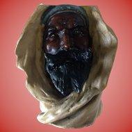 Majolica Arab Sheik made in Austria