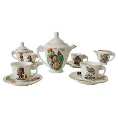 Disney Snow White & Seven Dwarfs Tea Set From Europe