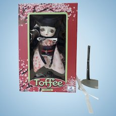 Hand Made Huckleberry Toys Toffee Doll Sukura