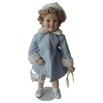 Danbury Mint Shirley Temple dressed in Sunday Best Outfit