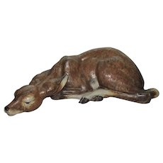 Lladro Resting Fawn/Deer Bambi Very Large Retired Ca. 1970's Very Rare