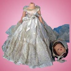 Beautiful Bride Doll Needs Repair