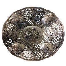 Antique Silver Repose Fruit Bowl