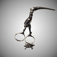 Victorian Sterling Silver Midwives' Clamp
