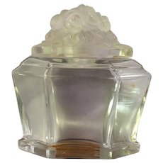 1928 Baccarat Crystal Perfume Bottle