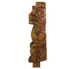 Jim Yelton, First Nations Talking Stick