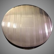 Mid-Century Rex 5th Avenue Sterling Silver Compact
