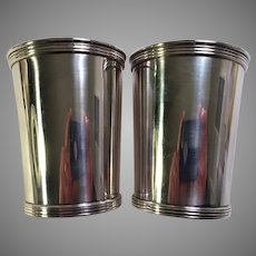 Pair of International Sterling Mint Julep Cups