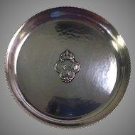 Vintage Jens Sigsgaard Sterling Silver Wine Coaster