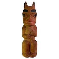 Geo McKay Carved Bear Totem