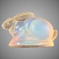 Vintage Sabino Art Glass Rabbit