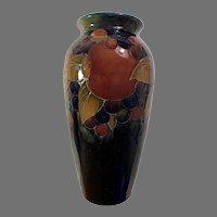 Large Vintage Moorcroft Vase in the Pomegranate Pattern